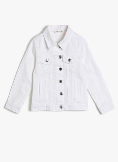 Koton Kids Ceket Beyaz